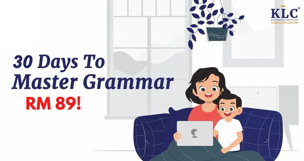 30 Days To Master Grammar di KLC!