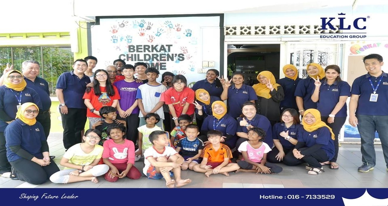 Projek CSR KLC Meriahkan Rumah Kanak-Kanak Berkat