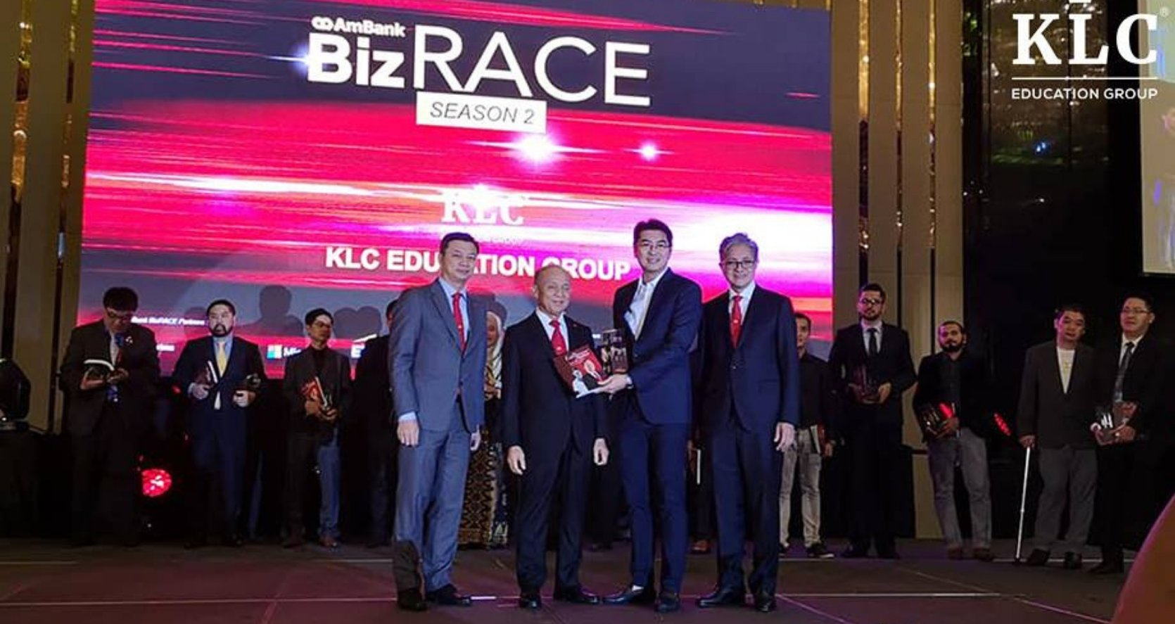 KLC Received Top 30 Ambankbizrace